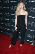 ELENA KAMPORIUS at The Glass Castle Premiere in New York 08/09/2017