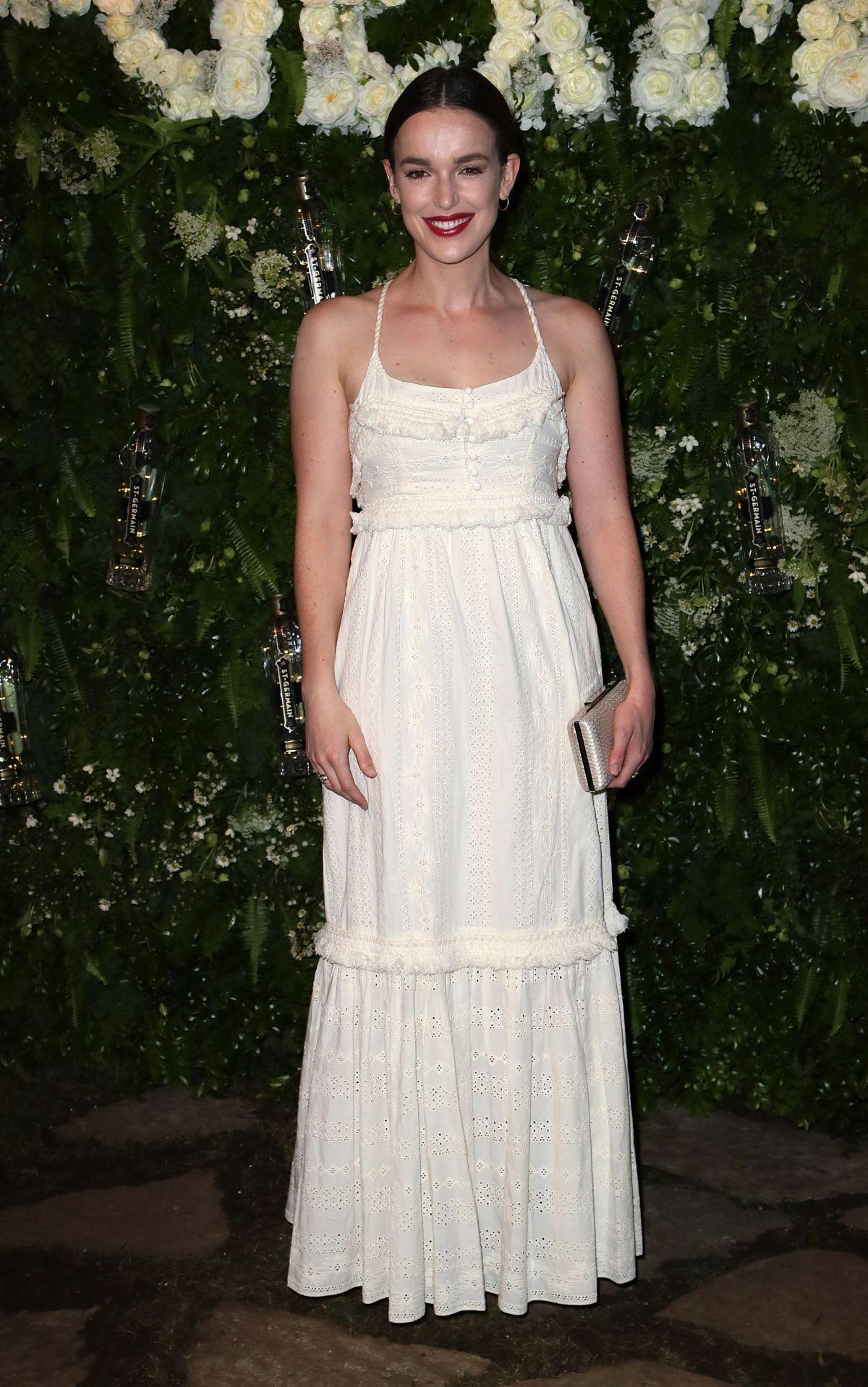 ELIZABETH HENSTRIDGE at Maison St-germain Event in Los Angeles 08/02/2017