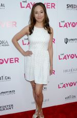ELIZABETH HO at The Layover Premiere in Los Angeles 08/23/2017