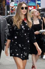 ELIZABETH OLSEN Arrives at Good Morning America in New York 08/02/2017