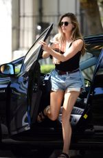 ELIZABETH OLSEN Out and About in Los Angeles 08/22/2017