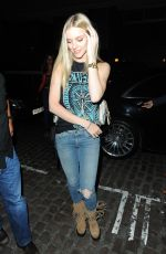 ELLE EVANS at Chiltern Firehouse in London 08/19/2017