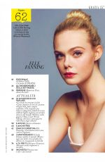 ELLE FANNING in Grazia Magazine, Italy August 2017