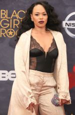 ELLE VARNER at BET Black Girls Rock! in Newark 08/05/2017