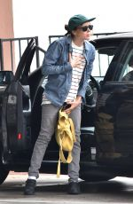 ELLEN PAGE Out and About in Hollywood 08/24/2017