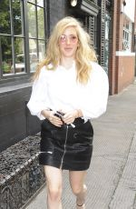 ELLIE GOULDING Out in London 08/17/2017
