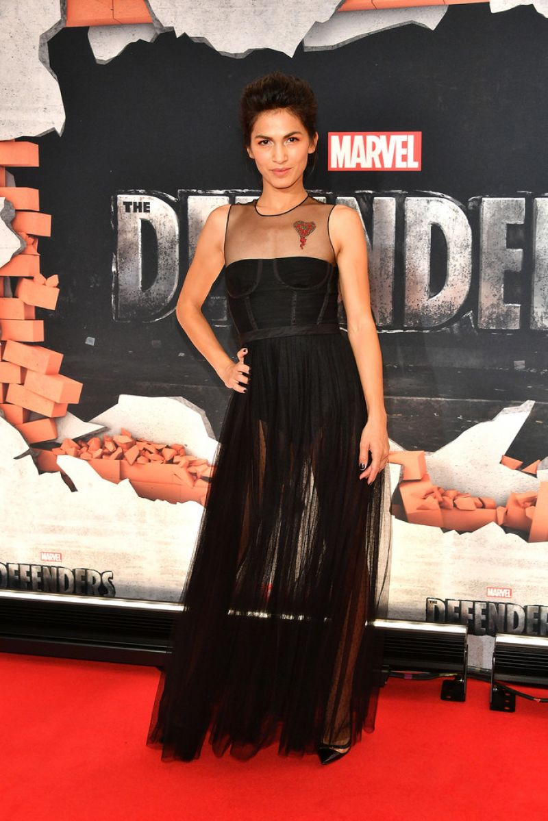 ELODIE YUNG at The Defenders Premiere in New York 07/31/2017