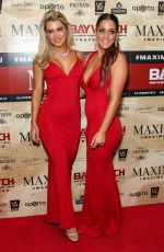 ELORA MURGER and SIMONE ORMESHER at Maxim Magazine