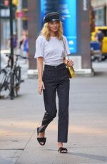 ELSA HOSK at Fittings for Victoria's Secret Fashion Show 2017 in New York 08/27/2017