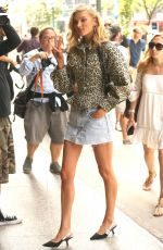 ELSA HOSK at Victoria's Secret Offices in New York 08/28/2017