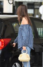 EMILY RATAJKOWSKI at a Gas Station in Los Angeles 08/15/2017