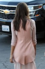 EMILY RATAJKOWSKI Leaves Jimmy Kimmel Live! in Hollywood 08/07/2017