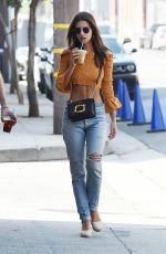 EMILY RATAJKOWSKI Out for a Coffee in Los Angeles 08/18/2017