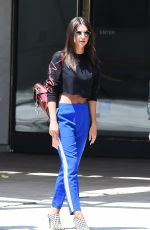 EMILY RATAJKOWSKI Out for Lunch at Hauser & Wirth Restaurant in Los Angeles 08/24/2017