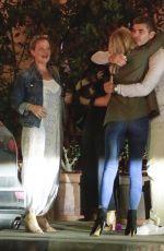 EMILY VANCAMP Leaves Angelini Restaurant in Los Angeles 08/23/2017