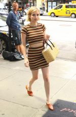 EMMA ROBERTS Out and About in New York 08/08/2017