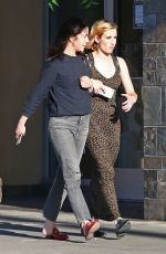 EMMA ROBERTS Out and About in Studio City 08/20/2017