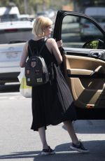 EMMA ROBERTS Out for Lunch in Beverly Hills 08/14/2017