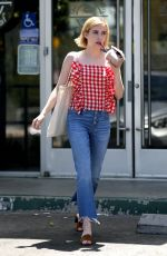 EMMA ROBERTS Out in Studio City 08/11/2017
