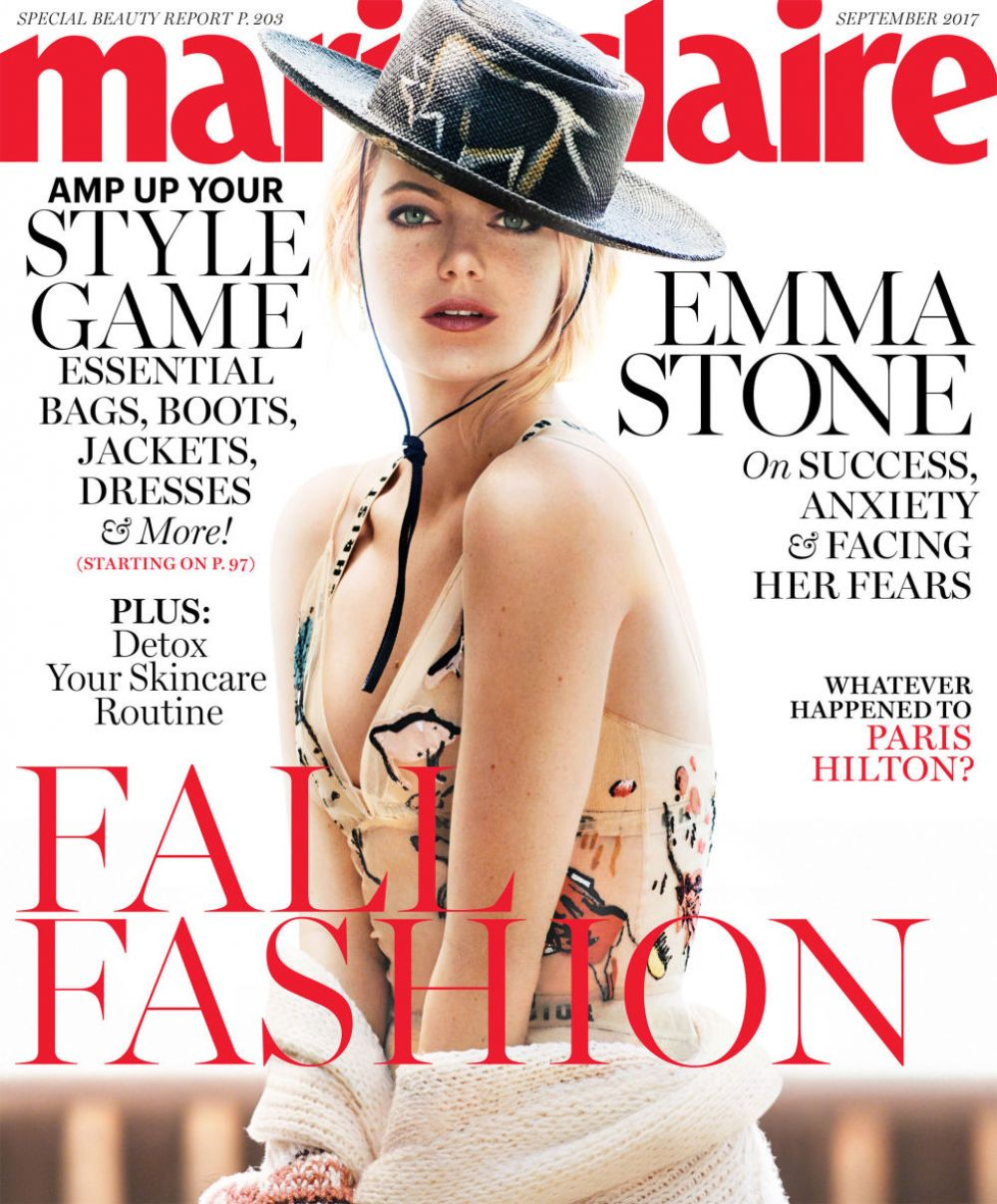 EMMA STONE for Marie Claire Magazine, September 2017