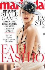 EMMA STONE in Marie Claire Magazine, September 2017 Issue