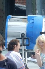 EMMA STONE on the Set of Maniac in Valley Stream 08/23/2017