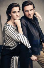EMMA WATSON and Dan Stevens for Attitude Magazine, April 2017