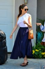 EMMY ROSSUM at Instyle's Day of Indulgence Party in Brentwood 08/13/2017