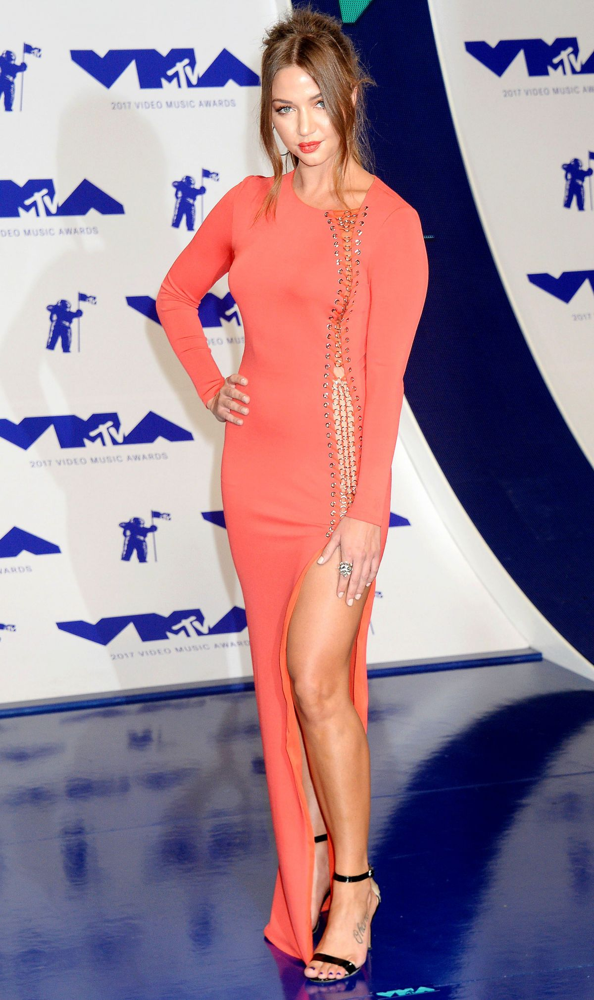 ERIKA COSTELL at 2017 MTV Video Music Awards in Los Angeles 08/27/2017