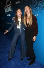 ESTE and ALANA HAIM at Carpool Karaoke Series Launch in Los Angeles 08/07/2017