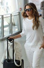 EVA LONGORIA at JFK Airport in New York 08/09/2017