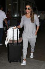 EVA LONGORIA at LAX Airport in Los Angeles 08/15/2017