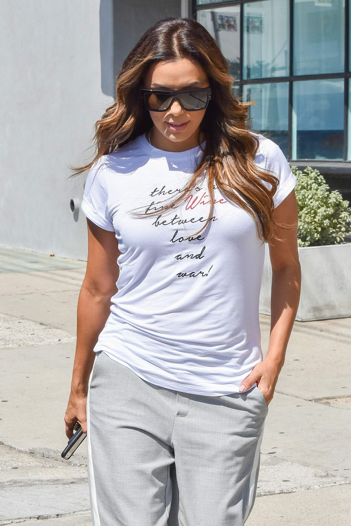 EVA LONGORIA Out and About in Los Angeles 08/30/2017