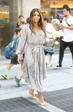 EVA LONGORIA Out and About in New York 08/09/2017