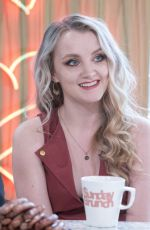 EVANNA LYNCH at Sunday Brunch Show in London 08/06/2017