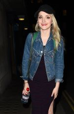 EVANNA LYNCH Leaves Disco Pigs in London 08/05/2017