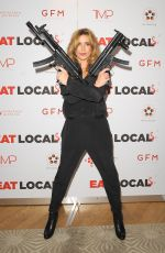 EVE MYLES at Eat Locals Premiere Horror Channel Frightfest in London 08/26/2017