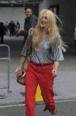 FEARNE COTTON Leaves BBC Studio in London 08/22/2017