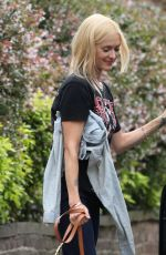 FEARNE COTTON Out and About in London 08/23/2017
