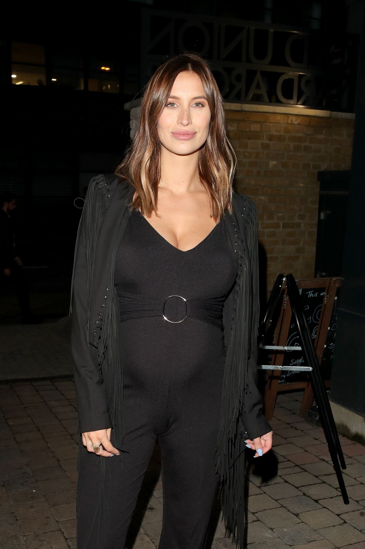 FERNE MCCANN Arrives at Savvy Mummy Party in London 08/21/2017