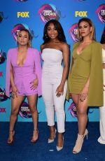 FIFTH HARMONY at Teen Choice Awards 2017 in Los Angeles 08/13/2017