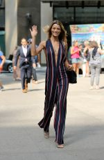 FLAVIA LUCINI at 2017 Victoria's Secret Fashion Show Casting in New York 08/21/2017