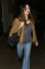 FRANCES BEAN COBAIN at LAX Airport in Los Angeles 08/27/2017
