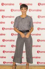 FRANKIE BRIDGE at Lorraine TV Show in London 08/18/2017