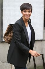FRANKIE BRIDGE Leaves ITV Studios in London 08/17/2017