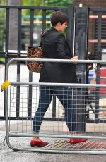 FRANKIE BRIDGE Leaves ITV Studios in London 08/17/2017