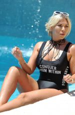 FRANKIE ESSEX in Swimsuit on Holiday in Portugal 08/27/2017