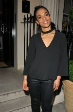 FREEMA AGYEMAN at Apologia Play After-party in London 08/03/2017