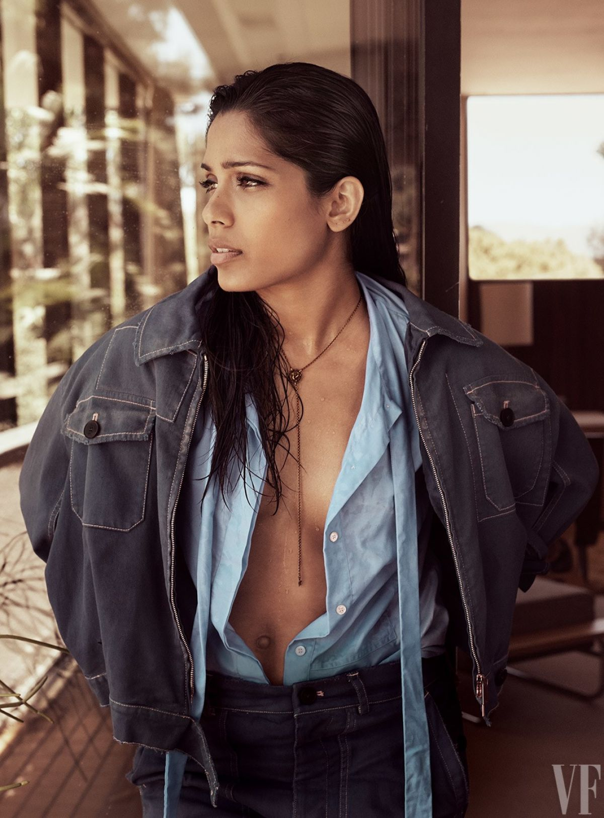 FREIDA PINTO for Vanity Fair Style Portfolio, September 2017