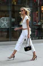 FRIDA AASEN at Victoria's Secret Offices in New York 08/27/2017